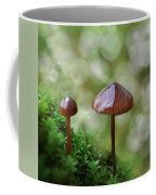 Little Mushroom Reflections Coffee Mug