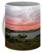 Little Pond Near The Ocean Panorama Coffee Mug