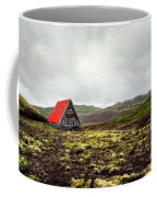 Little Red Cabin Coffee Mug