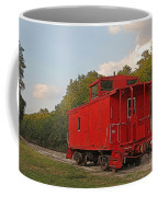 Little Red Caboose Coffee Mug