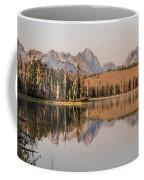 Little Redfish Lake Reflections Coffee Mug