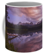 Little Redfish Lake Sunset Stanley Idaho Coffee Mug