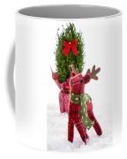 Little Reindeer Christmas Card Coffee Mug