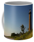 Little Sable Lighthouse By Silver Lake Michigan No.557 Coffee Mug