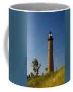 Little Sable Lighthouse On The Dune By Silver Lake Michigan No.560 Coffee Mug