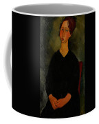Little Servant Girl Coffee Mug by Amedeo Modigliani
