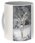 Little Snow Tree Coffee Mug by Karen Adams