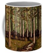 Little Stream In The Deep Woods II Coffee Mug