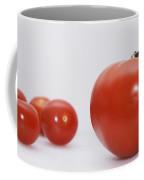 Little Tomatoes And One Big Tomato Coffee Mug