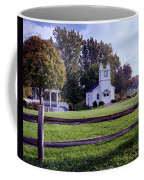 Little Village Chapel Of The Immanuel Lutheran Church Coffee Mug