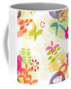 Little Watercolor Garden Coffee Mug by Linda Woods