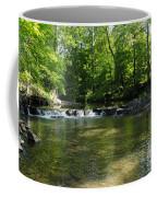 Little Waterfall At Green Lane Pa. Coffee Mug