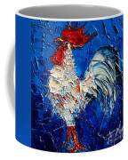 Little White Rooster Coffee Mug