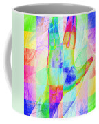 Live Long And Prosper 20150302v1 Color Squares Sq Coffee Mug