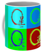 Live Love Luck Laugh Coffee Mug