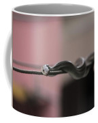 Live Wire - Rat Snake On Electric Wire Coffee Mug