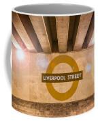 Liverpool Street Underground Coffee Mug