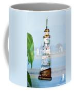 Living By The Sea - Pacific Ocean Coffee Mug