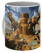 Living Fossils In A Desert Landscape Coffee Mug