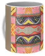 Living In The Pink 1 - Tjod X V I Arrangement Coffee Mug