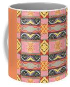 Living In The Pink 2 - Tjod X V I Arrangement Coffee Mug