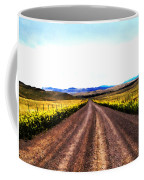 Living On Back Roads Coffee Mug