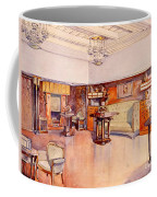 Living Room, 1905 Coffee Mug by Alfred Grenander