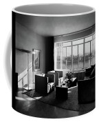 Living Room In The Ny Home Of Edward M. M Coffee Mug