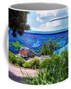 Living Seas Signage Walt Disney World Coffee Mug