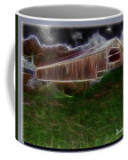 Livingston Manor Covered Bridge - Featured In Comfortable Art Group Coffee Mug