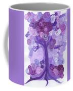 Liz Dixon's Tree Purple Coffee Mug