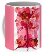 Liz Dixon's Tree Red Coffee Mug