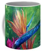 Lizard On Bird Of Paradise Coffee Mug