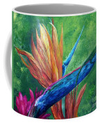 Lizard On Bird Of Paradise Coffee Mug