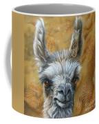 Llama Baby Coffee Mug by Jurek Zamoyski