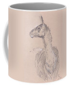 Llama Drawing Coffee Mug