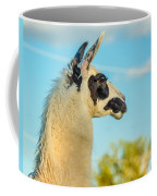 Llama Profile Coffee Mug