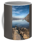 Llanberis Lake Coffee Mug by Adrian Evans