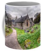 Llantysilio Church Coffee Mug by Adrian Evans
