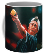 Lleyton Hewitt 2  Coffee Mug by Paul Meijering