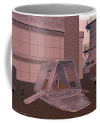 Loading A Cargo Pod Coffee Mug