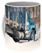 Loading Of Logs  Coffee Mug
