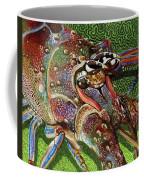 lobster season Re0027 Coffee Mug by Carey Chen