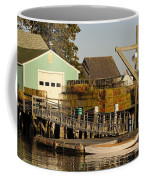 Lobster Traps On Dock Coffee Mug