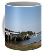 Lobster Wharf Coffee Mug