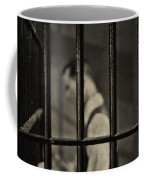 Locked Up Black And White Coffee Mug