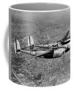 Lockheed P-38 Lightning Fighter Coffee Mug