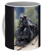 Locomotive 639 Type 2 8 2 Front And Side View Coffee Mug