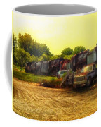 Locomotive Graveyard Coffee Mug