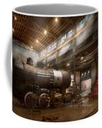 Locomotive - Locomotive Repair Shop Coffee Mug